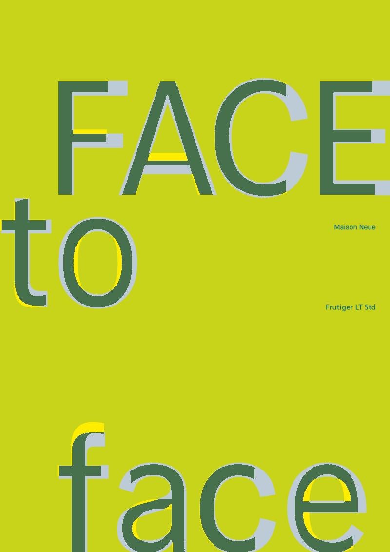 FaceToFace Plakat